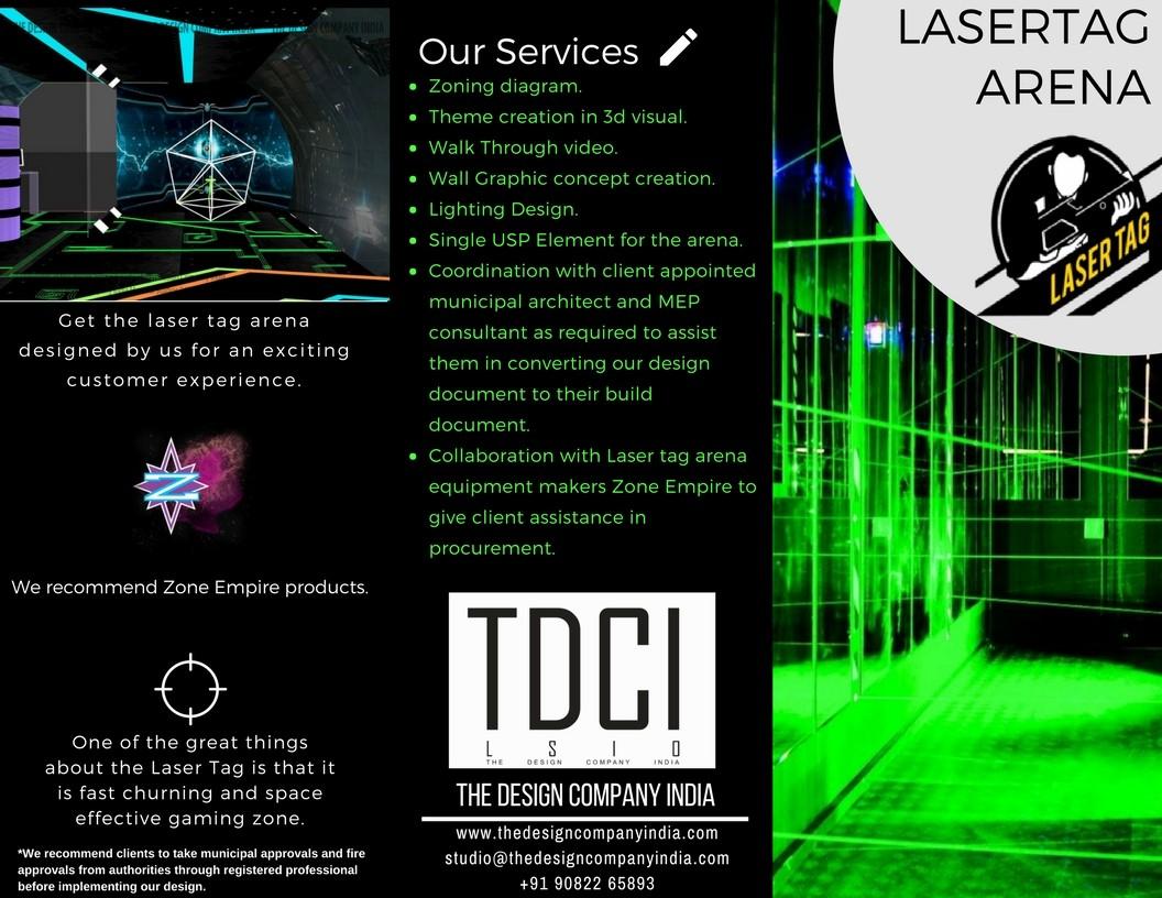 laser tag game centre design